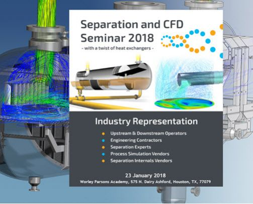 MySep | MySep Separation and CFD Industry Seminar, Houston, 2018