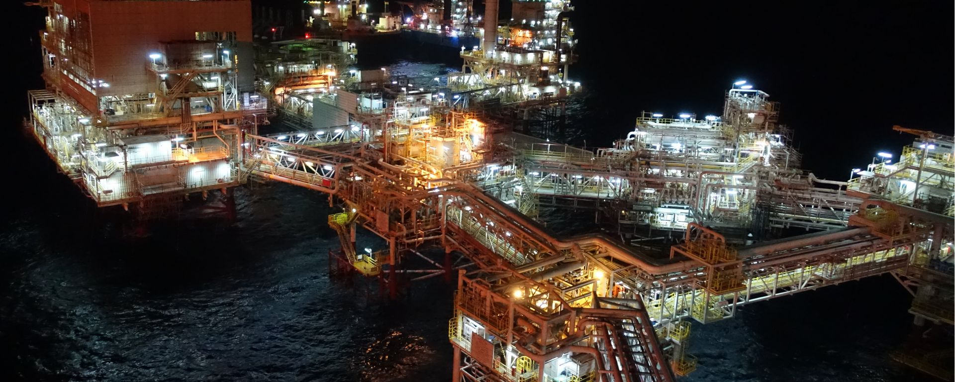 MySep | MySep-Offshore Production Platforms Night